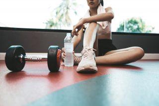 Setrina e allenamento in palestra